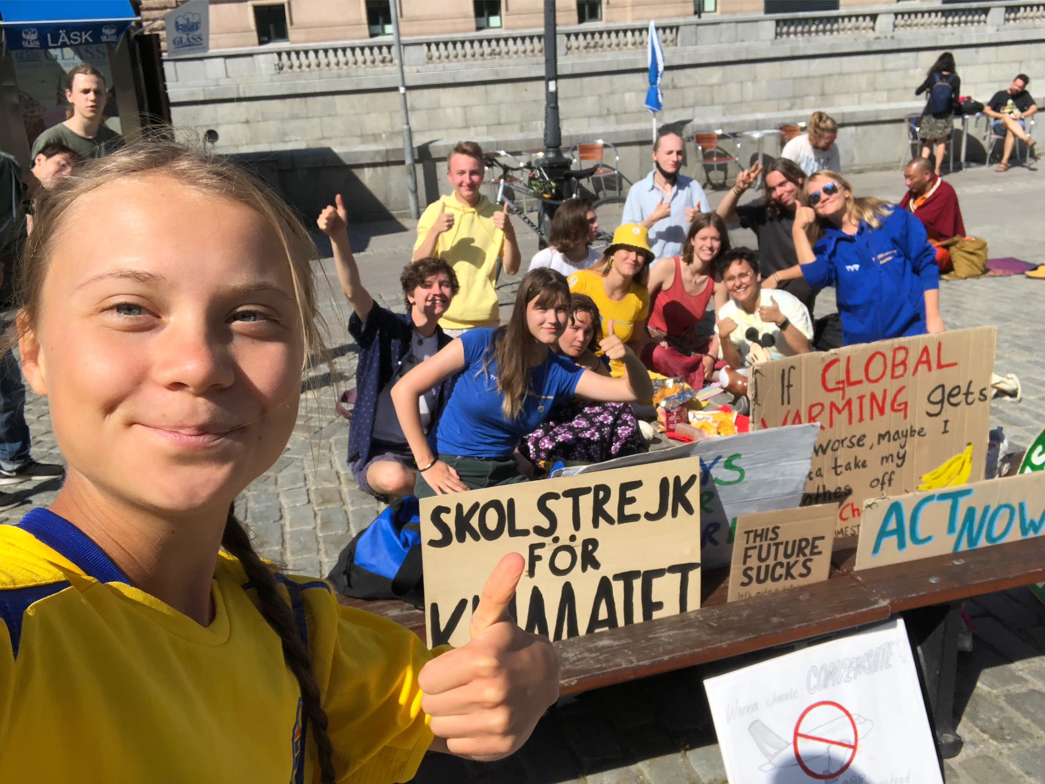 Greta Thunberg starred for Vogue and criticized the fashion world for climate change