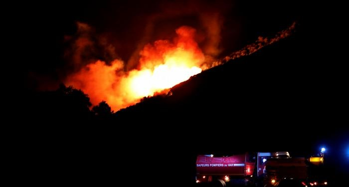 """""""Ecological disaster"""" in Greece, Turkey, Italy and Spain: One person dies in French wildfires"""