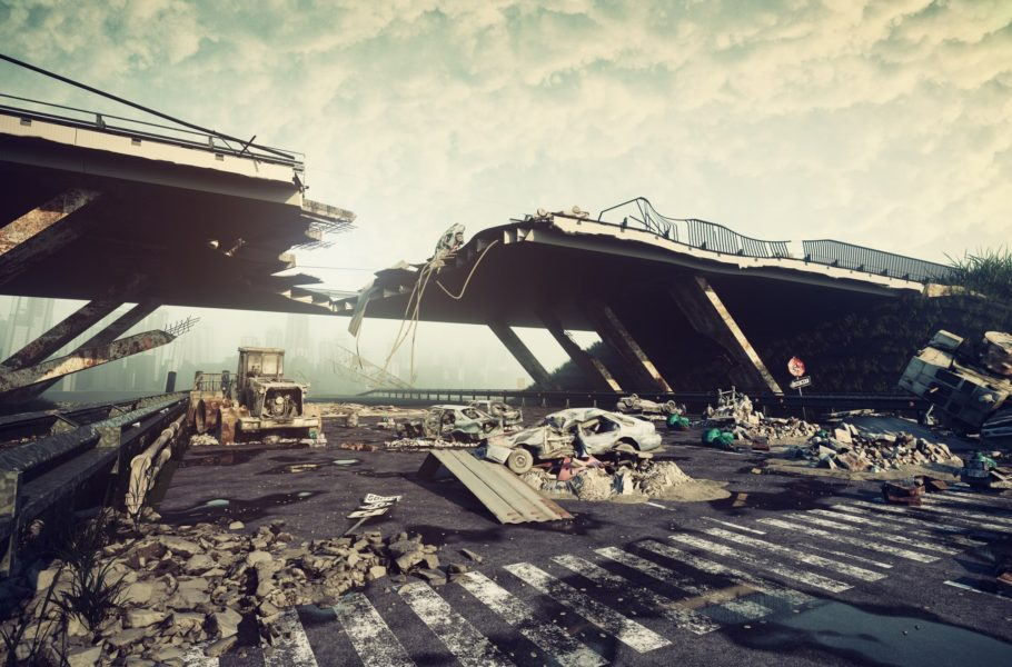 Post-apocalypse: when the reality is similar to science fiction