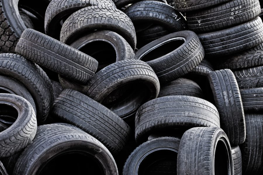 A new type of black gold in Nigeria: used car tires