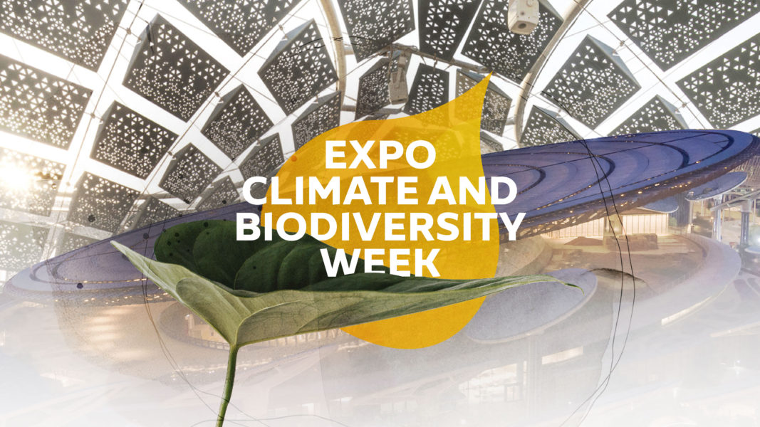 Climate and Biodiversity Week took place at Expo 2020 Dubai