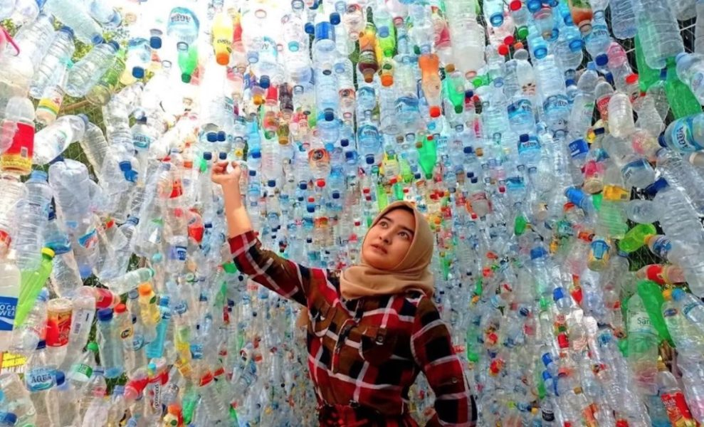 A plastic museum was opened in Indonesia
