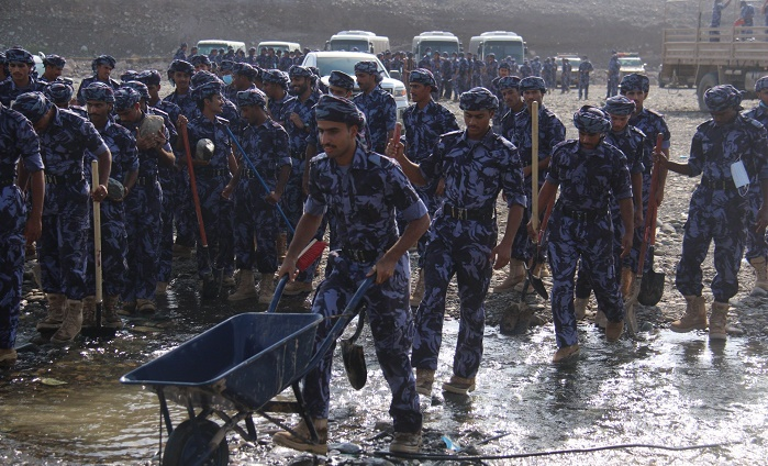 After cyclone: Royal Oman Police from Sohar, Liwa, join relief and recovery efforts