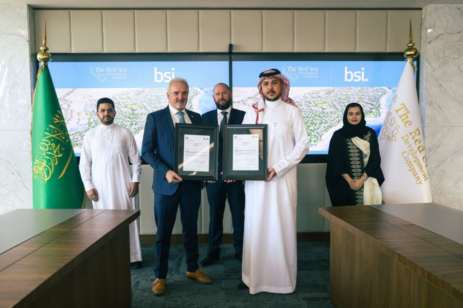 The Red Sea Development Company wins BIM Kitemark for digital project delivery