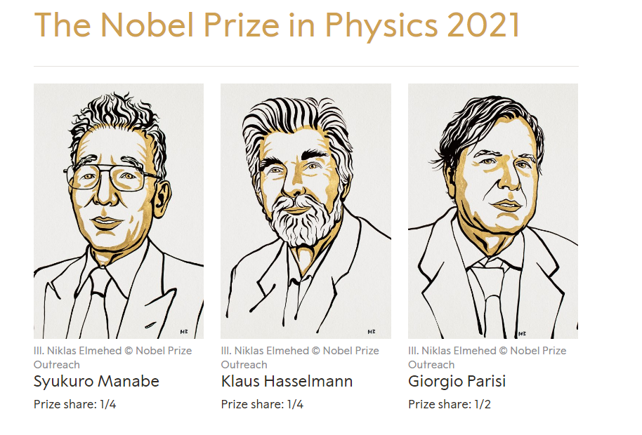 Global warming and climate change: 2021 Nobel Prize in Physics announced