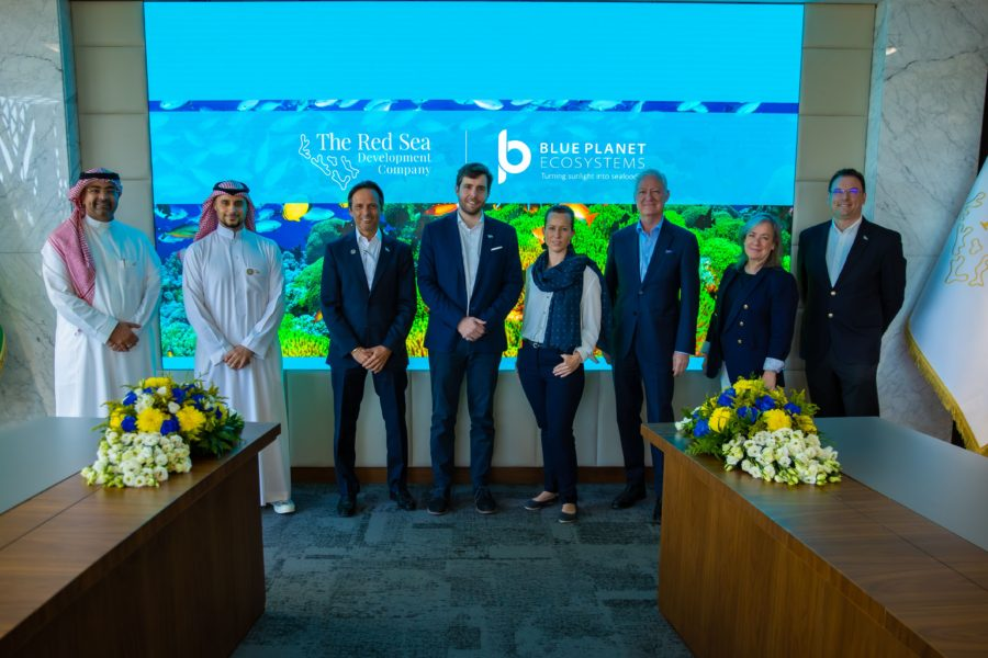 Red Sea Development Company partners with Blue Planet Ecosystems for the sustainable fish pilot scheme